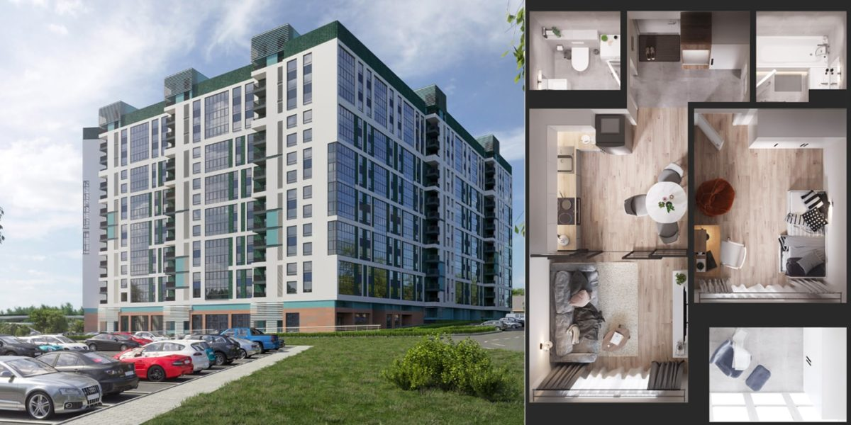 Недалеко от Грушевки начали строить новый дом с неплохими планировками. Узнали цены12