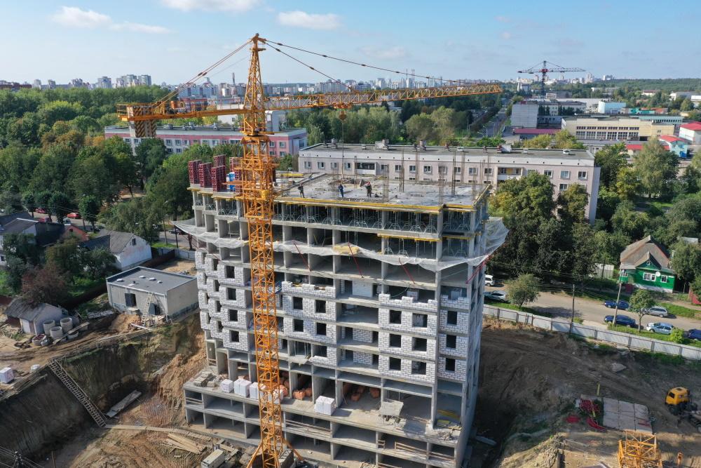 Фотоотчет 15.09.2020 о строительстве ЖК «Smart» в г. Минске