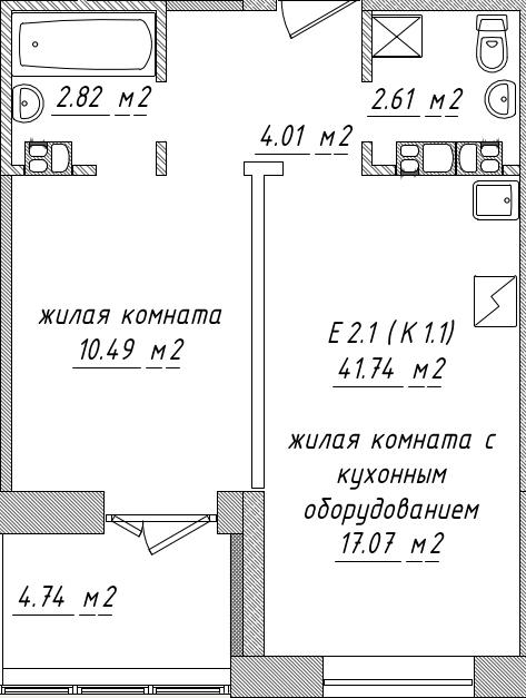 Планировки Смарт Минск