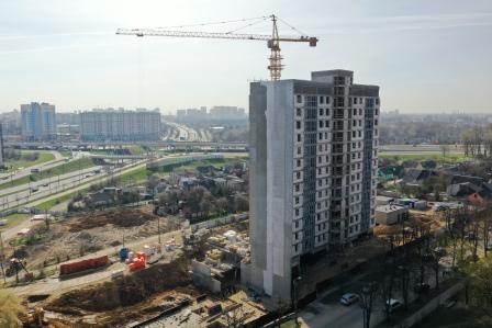Фотоотчет 29.04.2021 о строительстве ЖК «Smart» в г. Минске